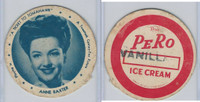 F5-16 Dixie Cup, 1950, Movie Stars, Large Size, Anne Baxter