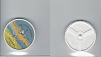 1960's Jell-o Hostess, Airplane Coin, #1 Deadalus