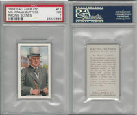 G12-94 Gallaher, Racing Scenes, 1938, #12 Mr. Frank Butters, PSA 7 NM