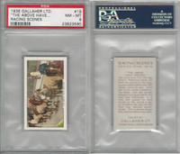 G12-94 Gallaher, Racing Scenes, 1938, #19 The Above Have, PSA 8 NMMT