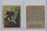 V106 Willards Chocolates, Dick Tracy, 1930's, #63 Intercepted Message