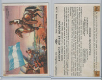 D39-9, Gordon Bread, Good Neighbors America, 1941, Argentina