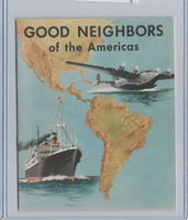 D39-9, Gordon Bread, Good Neighbors America, 1941, Album Used (Tape)