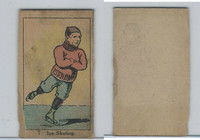 W542, Strip Card, Sports Drawings, 1920's, #7 Ice Skating