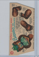F279-30a Quaker, Circus Puppets, 1951, #18 Bruno The Dancing Bear