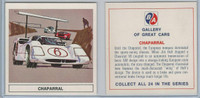 UO63 BA Oil, Gallery of Great Cars, 1967, Chaparral