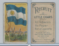 T59 American Tobacco, Flags of all Nations, 1910, Argentina