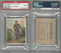 T52 Helmar, Costumes & Scenery, 1912, Holland, PSA 2 Good