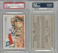 D39-9, Gordon Bread, Good Neighbors America, 1941, Chile, PSA 5 EX