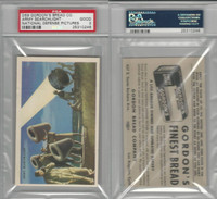 D59, Gordon Bread, National Defense Pictures, 1940's, Army Search, PSA 2