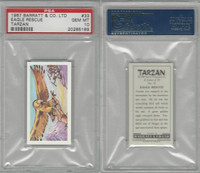 B0-0 Barratt, Tarzan, 1967, #33 Eagle Rescue, PSA 10 Gem