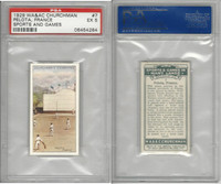 C82-81 Churchman, Sports & Games, 1929, #7 Pelota, France, PSA  5 EX