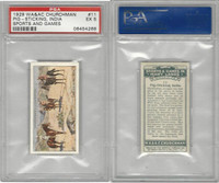 C82-81 Churchman, Sports & Games, 1929, #11 Pig Sticking, India, PSA 5 EX