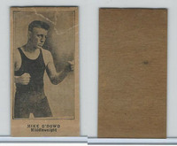 W Card, Strip Card, Boxing, 1920's, Mike O'Dowd
