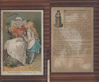 Victorian Card, 1890's, Ayer's Medicine, Lowell, Mass., Grandma See What