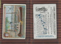L0-0 Liebig Fleisch Extract, Payment of Canal Fee, Boat Windmill Holland