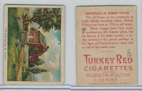 T72 Turkey Red, Hudson - Fulton Series, 1909, The Birthplace of Fulton