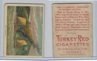 T72 Turkey Red, Hudson - Fulton Series, 1909, The Clermont