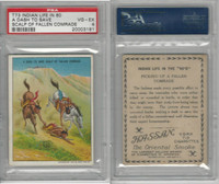 T73 Hassan, Indian Life, 1910, A Dash to Save the Scalp, PSA 4 VGEX