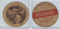 F5-13 Dixie Cup, 1947, Movie Stars, Monte Hale & Adrian Booth