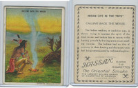 T73 Hassan, Indian Life, 1910, Calling Back the Moose