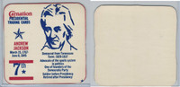 F259 Carnation, Presidential Trading Cards, 1960's, #7 Andrew Jackson
