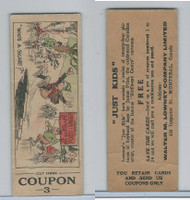 V49 Walter Lowney, Just Kids, 1930's, Who's A-Skairt (With Coupon)