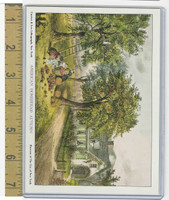 W Card Museum New York, Currier & Ives, American Homestead Autumn