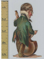 Victorian Diecuts, 1890's, Culture & People, (30) Musician