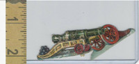 Victorian Diecuts, 1890's, Soldiers, (104) Two Cannons