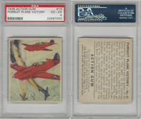 R1 Goudey, Action Gum, 1938, #19 Pursuit Plane Victory, PSA 4 VGEX