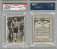 P18-78 Pattreiouex, Sporting Events, 1935, #40 TW Green, Walking, PSA 4
