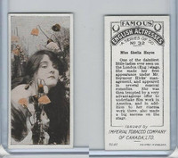 C9 Imperial Tobacco, Famous English Actresses, 1924, #32 Sheila Hayes
