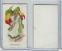 C91 Imperial Tobacco, Flag Girls, 1910, Abyssina