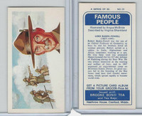 B0-0 Brooke Bond Tea, Famous People, 1967, #20 Lord Baden-Powell