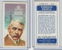 B0-0 Brooke Bond Tea, Famous People, 1967, #21 Sir Edward Elgar