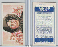 B0-0 Brooke Bond Tea, Famous People, 1967, #22 Emmeline Pankhurst