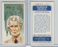 B0-0 Brooke Bond Tea, Famous People, 1967, #24 Edith Cavell