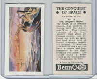 B0-0 Beano, Conquest Of Space, 1956, #19 The Congreve Rocket