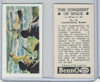 B0-0 Beano, Conquest Of Space, 1956, #20 Line-Throwing Rocket