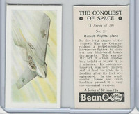 B0-0 Beano, Conquest Of Space, 1956, #23 Rocket Fighter Plane