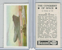 B0-0 Beano, Conquest Of Space, 1956, #26 Stratosphere Air Liner