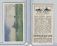 C18-62 Carreras, Our Navy, 1937, #12 HMS Porpoise Submarine