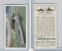 C18-62 Carreras, Our Navy, 1937, #15 HMS Pandora Submarine