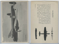 WC 1940's Official Photo Card, WW II Airplanes (4.5X7 in), Avro Manchester