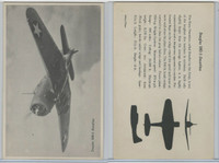 WC 1940's Official Photo Card, WW II Airplanes (4.5X7 in), Douglas Dauntless