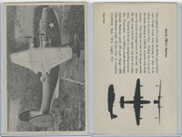 WC 1940's Official Photo Card, WW II Airplanes (4.5X7 in), Martin PBM1 Mariner
