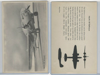 WC 1940's Official Photo Card, WW II Airplanes (4.5X7 in), Martin 187 Baltimore