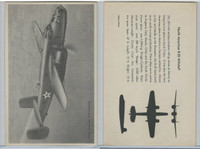 WC 1940's Official Photo Card, WW II Airplanes (4.5X7 in), N.A. B25 Mitchell