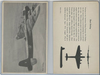 WC 1940's Official Photo Card, WW II Airplanes (4.5X7 in), Short Stirling